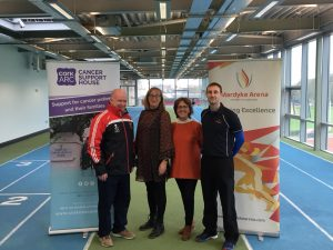 Declan Kidney launches Cork ARC's Get Active Programme for Men with Prostate or Bowel Cancer