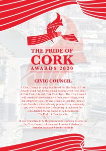CREATION OF CORK CIVIC COUNCIL