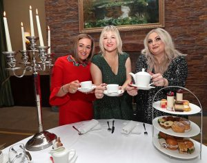 Launch of the Women's Little Christmas Afternoon Tea in aid of Breakthrough Cancer Research