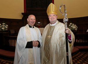 The licensing of Rev. Paul Robinson by the Bishop of Cork, Cloyne and Ross Dr. Paul Colton