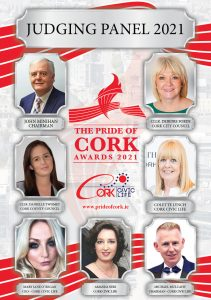 THE JUDGES FOR THE PRIDE OF CORK AWARDS 2021 HAVE BEEN ANNOUNCED