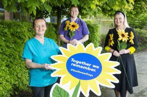 Marymount Hospice Sunflower Day campaign